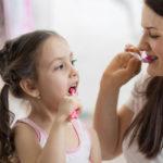 Caries en los dientes de los niños